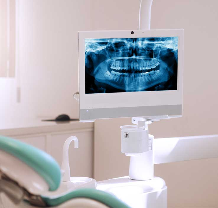 Dental technology of Fairbanks Periodontal Associates